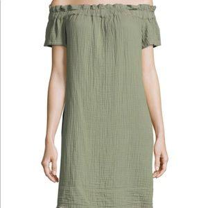 Anthropologie Dresses - Anthropologie Amadi off the shoulder dress